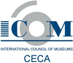 ICOM CECA's logo.