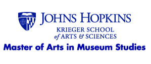 Logo of the Museum Studies Program at the Johns Hopkins University.