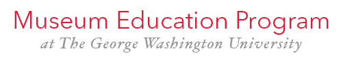 Logo of the George Washington University Museum Education Program.